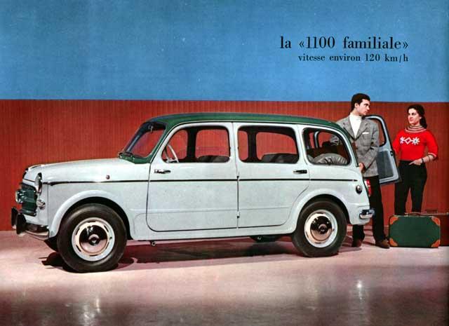 1960 fiat 1100 familiale