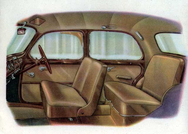 1960 fiat 1100 interior