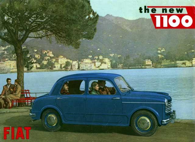 1960 fiat 1100 new