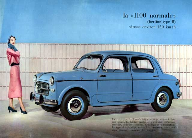 1960 fiat 1100 normale type-b