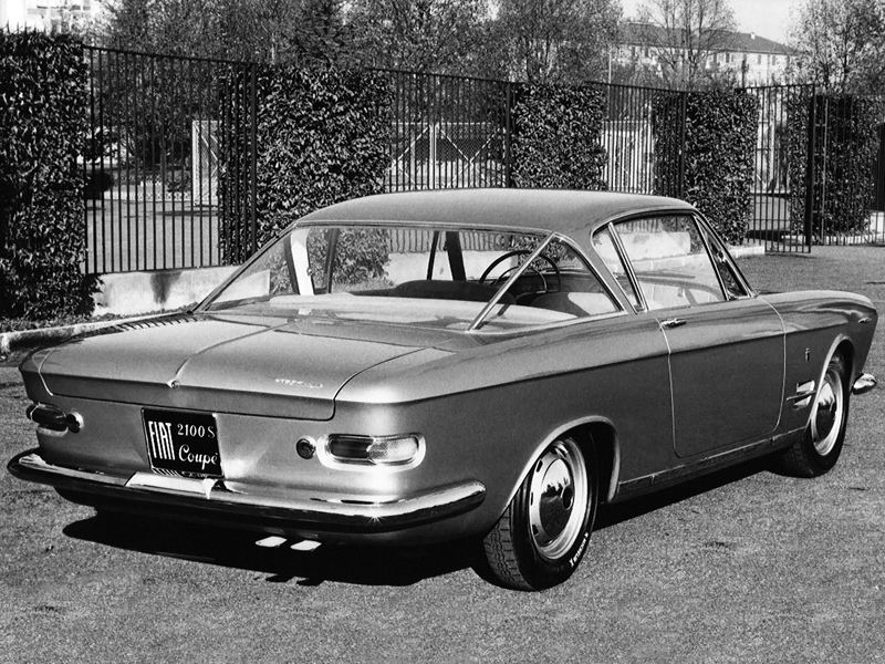 1960 Fiat 2100 S Coupe Prototipo