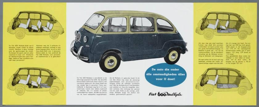 1960 FIAT 600 D Multipla 1960 Brochura b