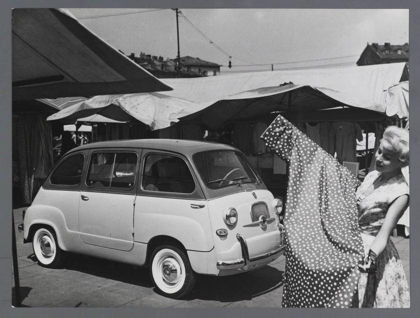 1960 FIAT 600 D Multipla 1960 op markt