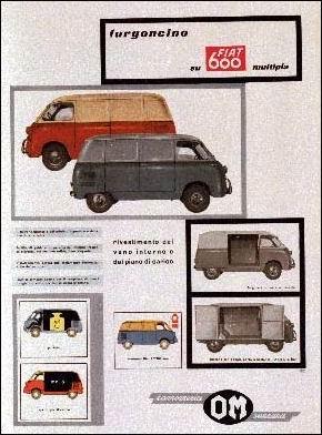 1960 fiat 600 furgon