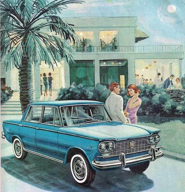1961-66 Fiat 1500 ad