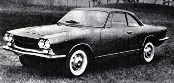1961 allemano fiat 1500
