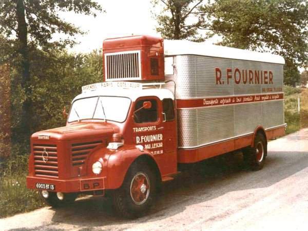 1961 BERLIET GLR 8 M2 en couchette