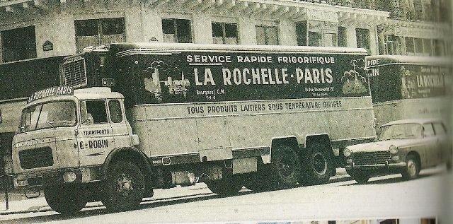 1961 BERLIET GPRK 10 de 26 tonnes de PTC, des Transports Robin