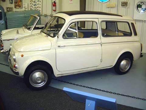 1961 Fiat 500 K Giardiniera