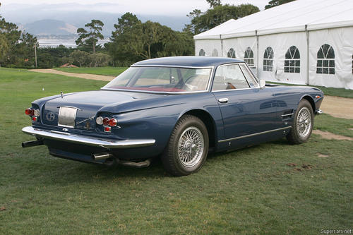 1962 Allemano Maserati 5000 GT k