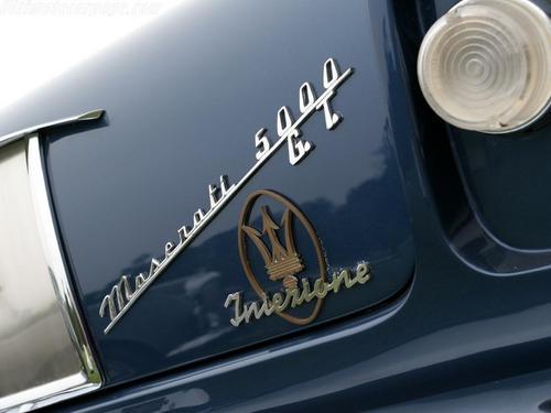 1962 Allemano Maserati 5000 GT r