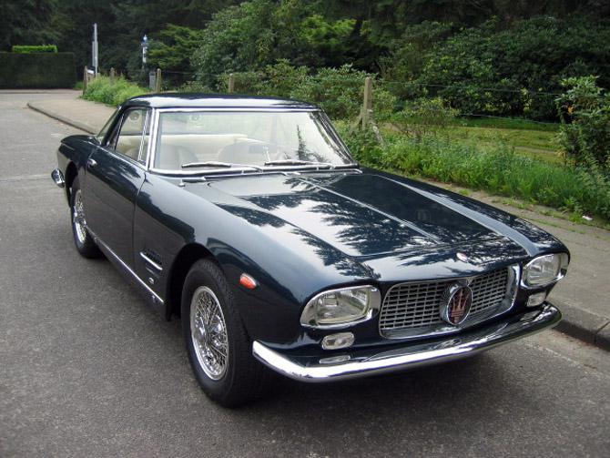 1962 Allemano Maserati 5000 GT zb