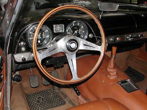 1962 Allemano Maserati 5000 GT zf