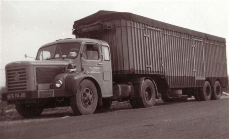 1962 BERLIET TLR 10 M2
