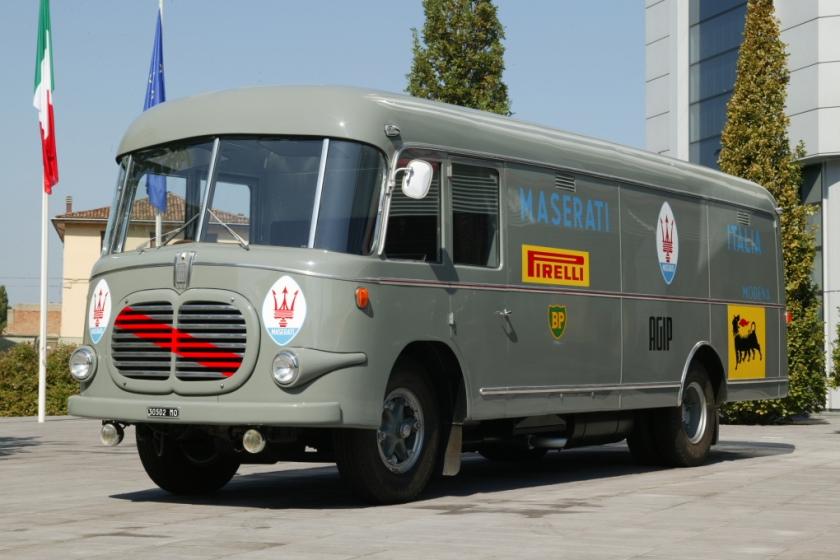 1962 Fiat 621 a cabina avanzata