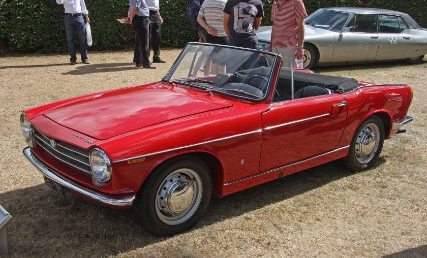 1962 Innocenti 950 Spider