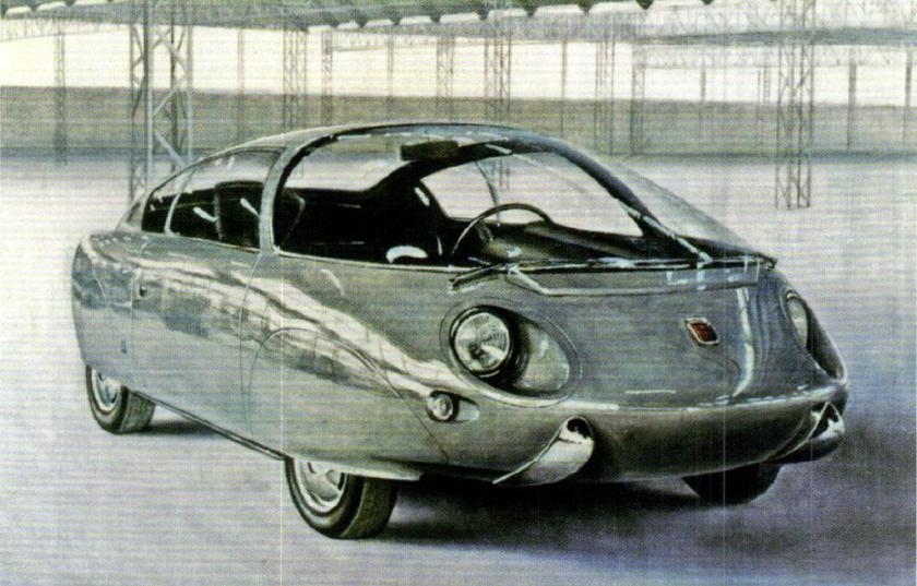 1962 Vignale Fiat 600D Record Sperimentale
