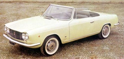 1963 Allemano Fiat 1500 Spyder