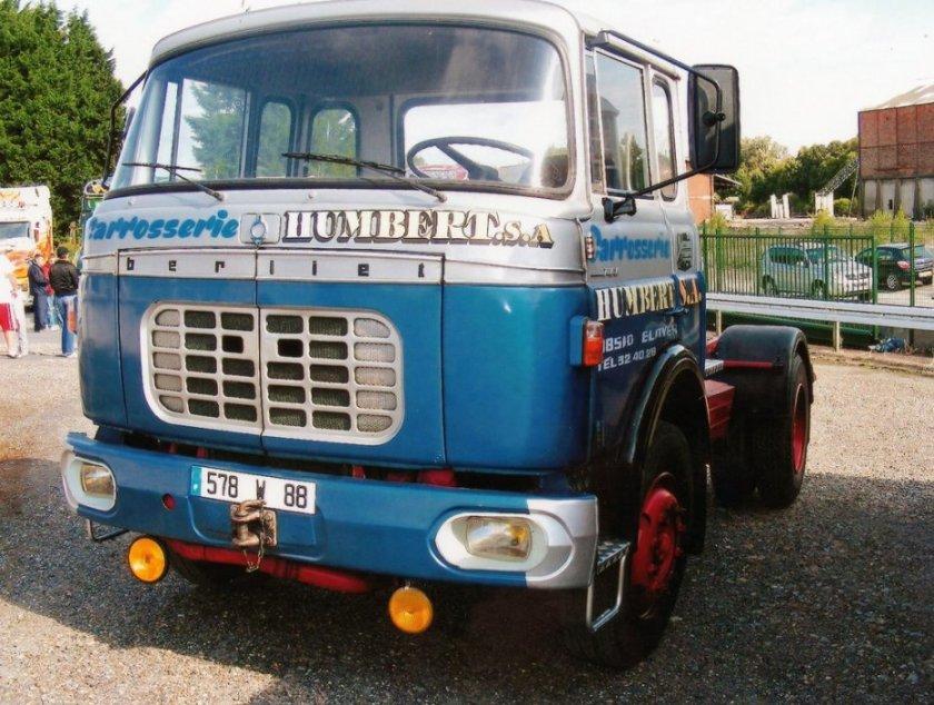 1963 Berliet TBK couchette