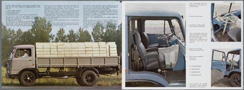 1963 FIAT 650E Bedrijfswagen Brochure a