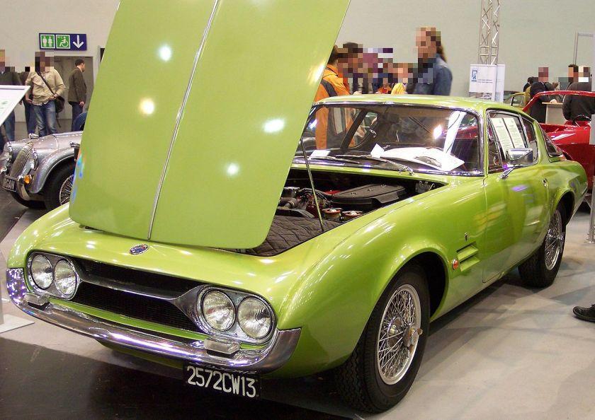 1963 Ghia-Fiat G230S based on Fiat 2300 S