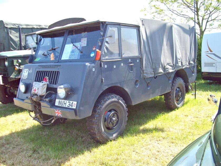 1963 MOWAG troop carrier