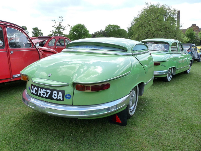 1963 Panhard PL 17 Tigre with matching traile