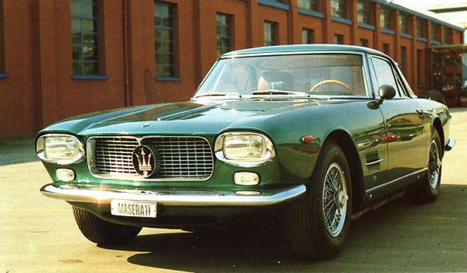 1964 Allemano Maserati 5000 GT a
