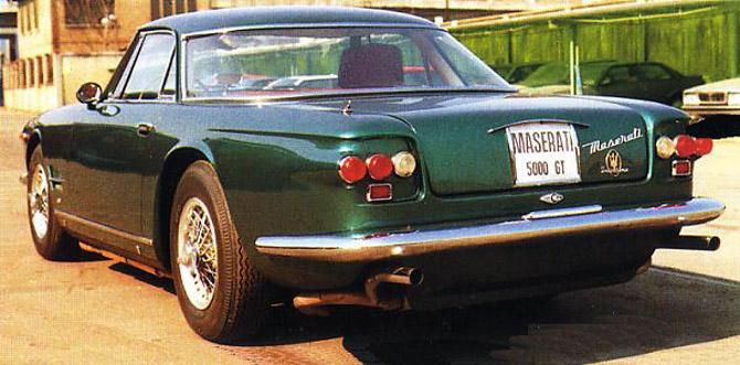 1964 Allemano Maserati 5000 GT b