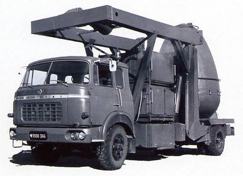 1964 Berliet GAK de l'Armée de l'Air très spécial .