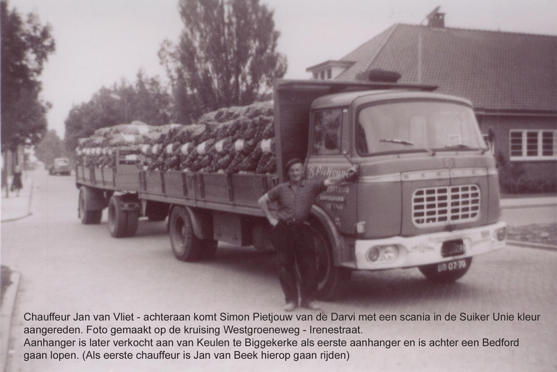 1964 Berliet met J van Vliet