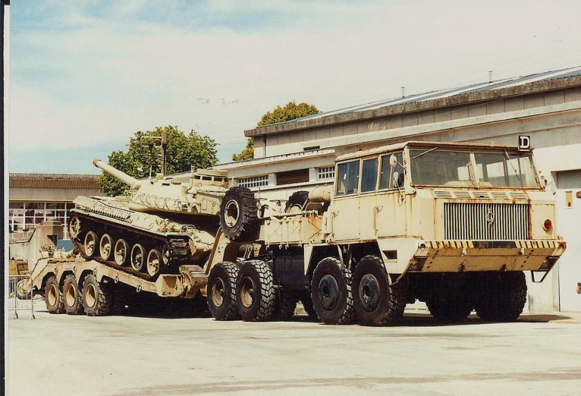 1964 Berliet T12 tank Transporter