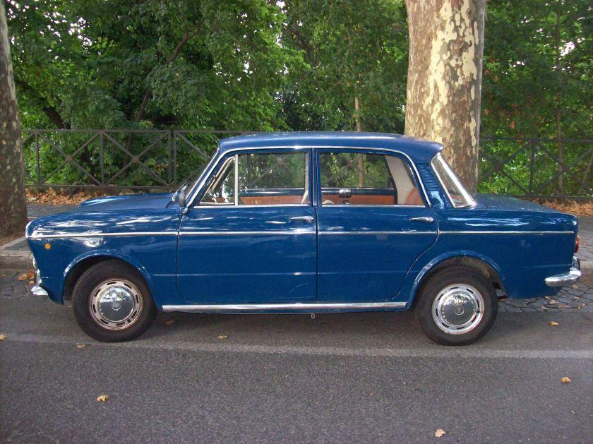 1964 Fiat 1100R fiancata sx
