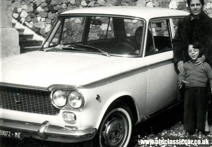 1964 Fiat 1300 saloon