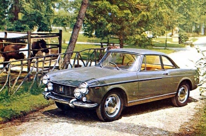 1964 Fiat 1500 et 1600 S Coupé