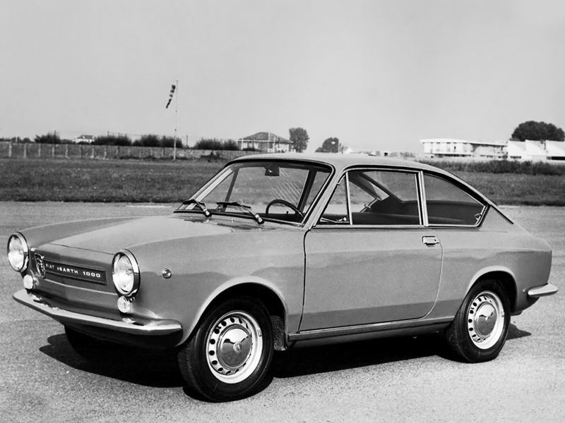 1965-68 Fiat Abarth OT 1000 Coupe