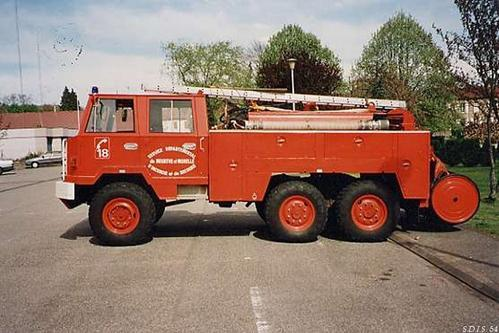1965 Berliet FF 415 Sapeurs Pompiers