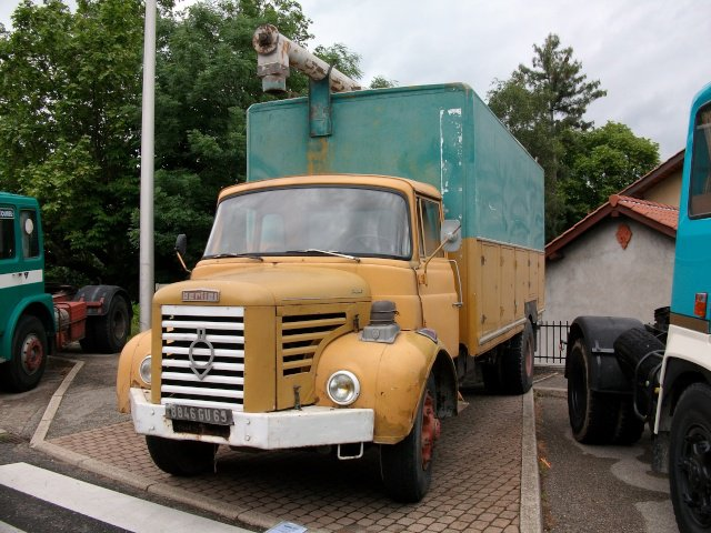 1965 Berliet GLR 8M3, 5 cyl, 150 cv