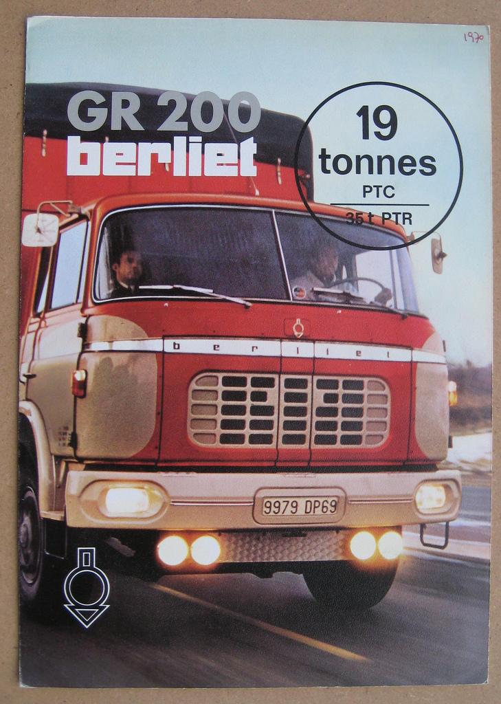 1965 Berliet GR 200 Ad