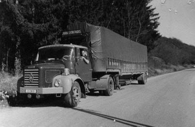 1965 Berliet TLC 8 M3 couchette, 5 cyl , 150 cv, de 25 tonnes de PTRA