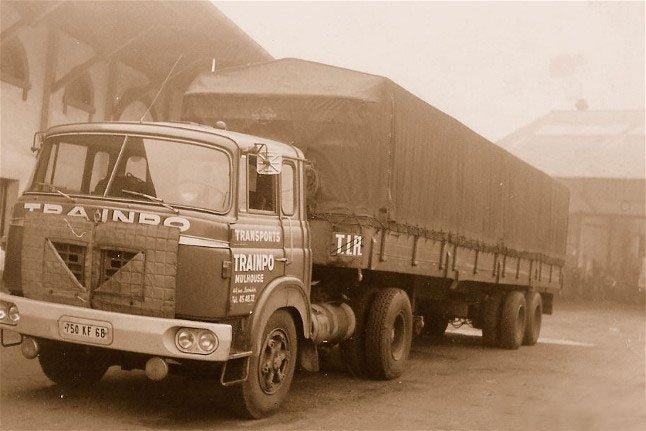 1965 Berliet tr12
