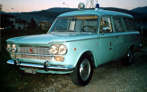 1965 Fiat 1500 Trasformato nel 1965 dalla carrozeria Grazia di Bologna