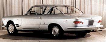 1965 fiat 2300s coupe tyl