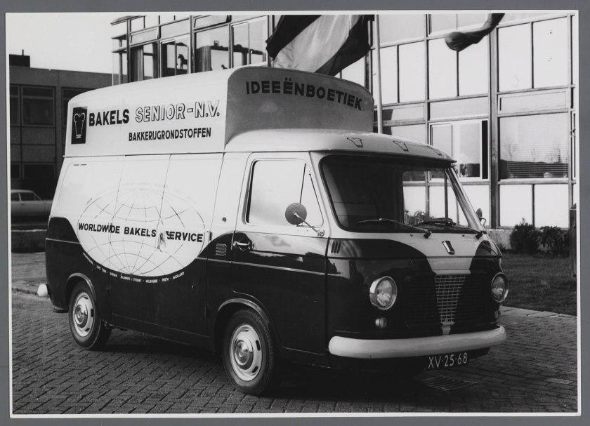 1965 FIAT 238 verhoogde bestelwagen