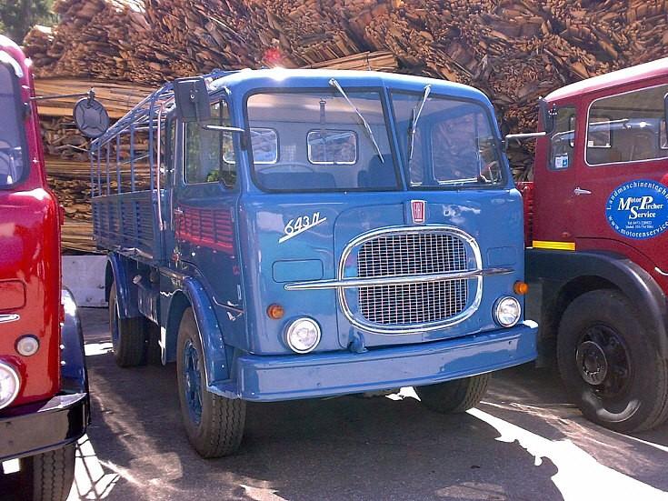 1965 Fiat 643N truck a