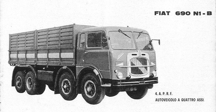 1965 Fiat 690 N1-B