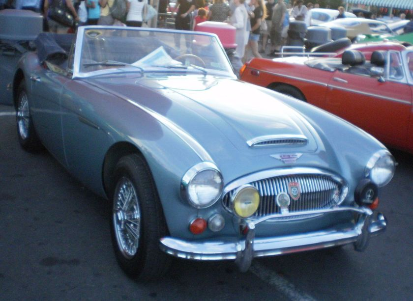 1966 Austin-Healey 3000 Mark III (North America)