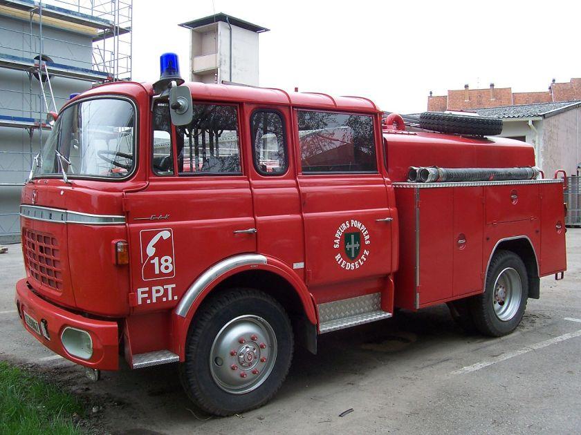 1966 Berliet GAK fourgon pompe tonne