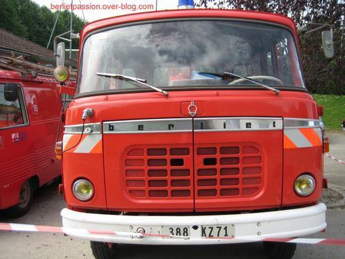 1966 Berliet GAK Sapeurs Pompiers d