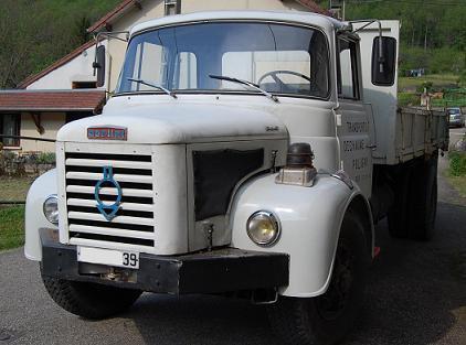1966 Berliet GLR 8 M3 5 cyl, 150 cv
